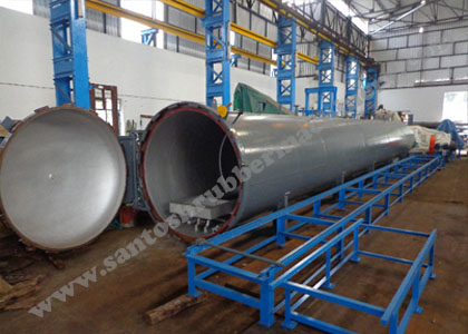 Rubber Autoclave in India.